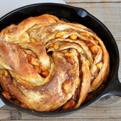 Peach Cinnamon Twist