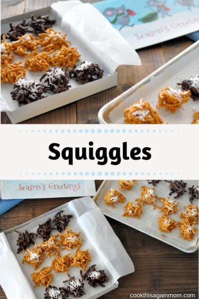 Squiggles  Hay Stacks