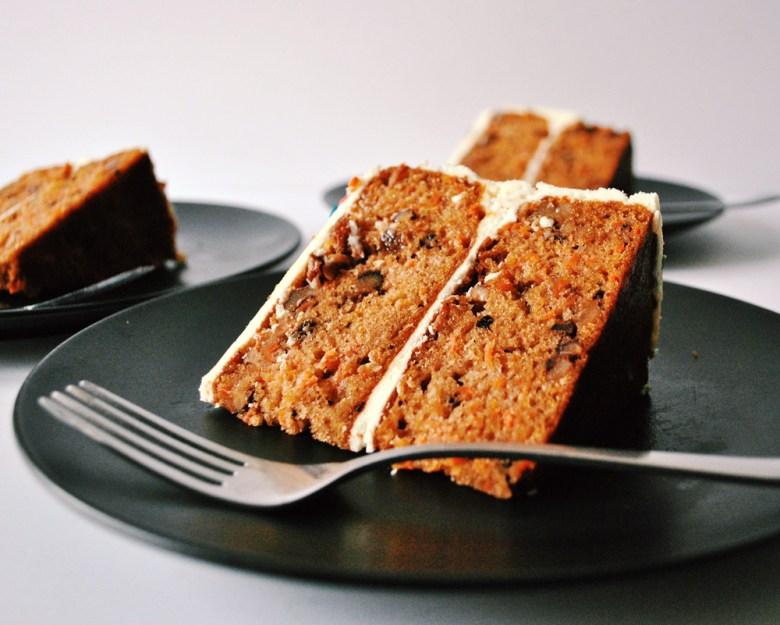 carrot cake side