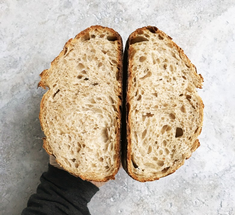 everyday sourdough - crumb