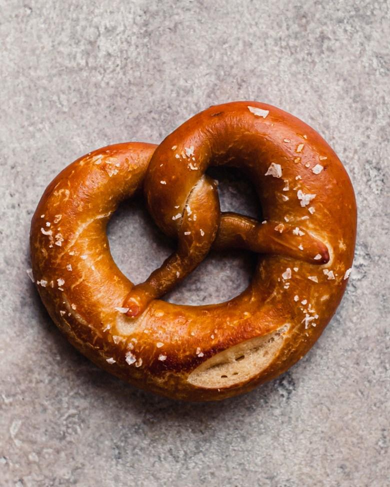 sourdough pretzel lye