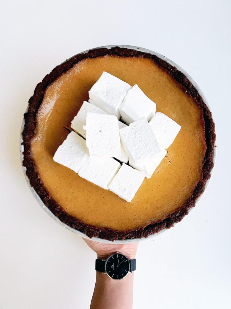 pumpkin apple butter pie