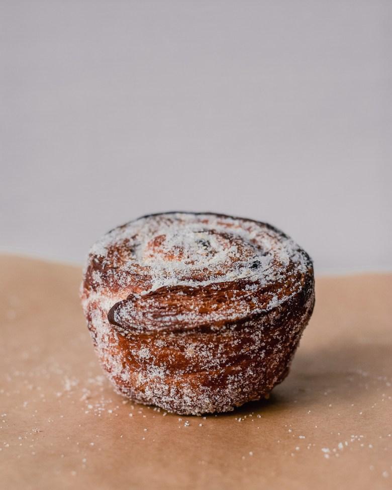sourdough enriched morning bun