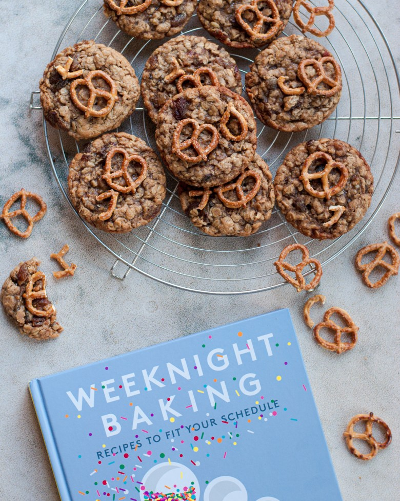 weeknight baking and cookies