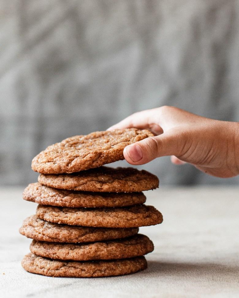 graham cracker snickerdoodle stack