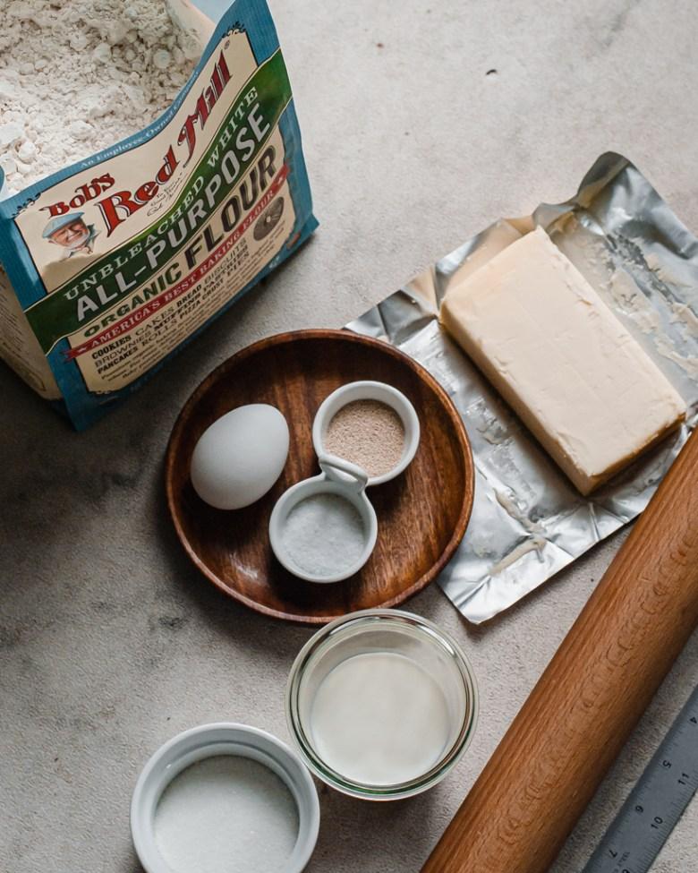 danish dough ingredients