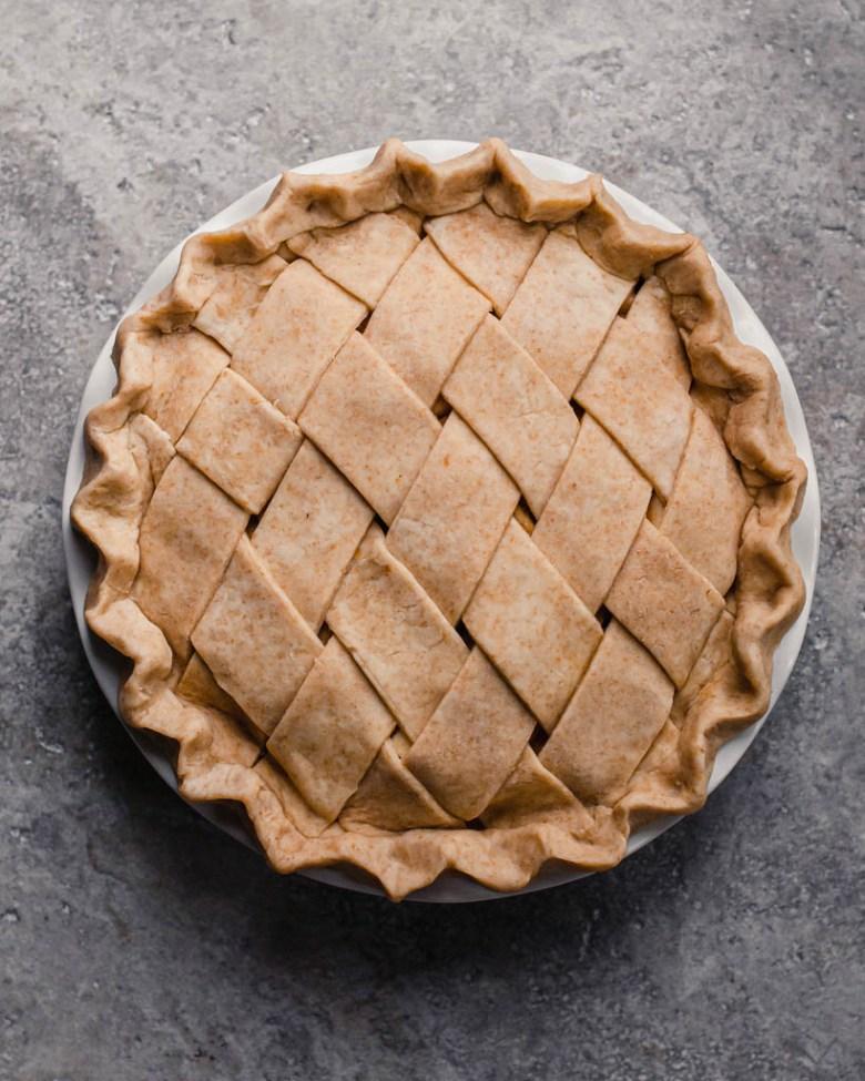 sourdough pie crust unbaked