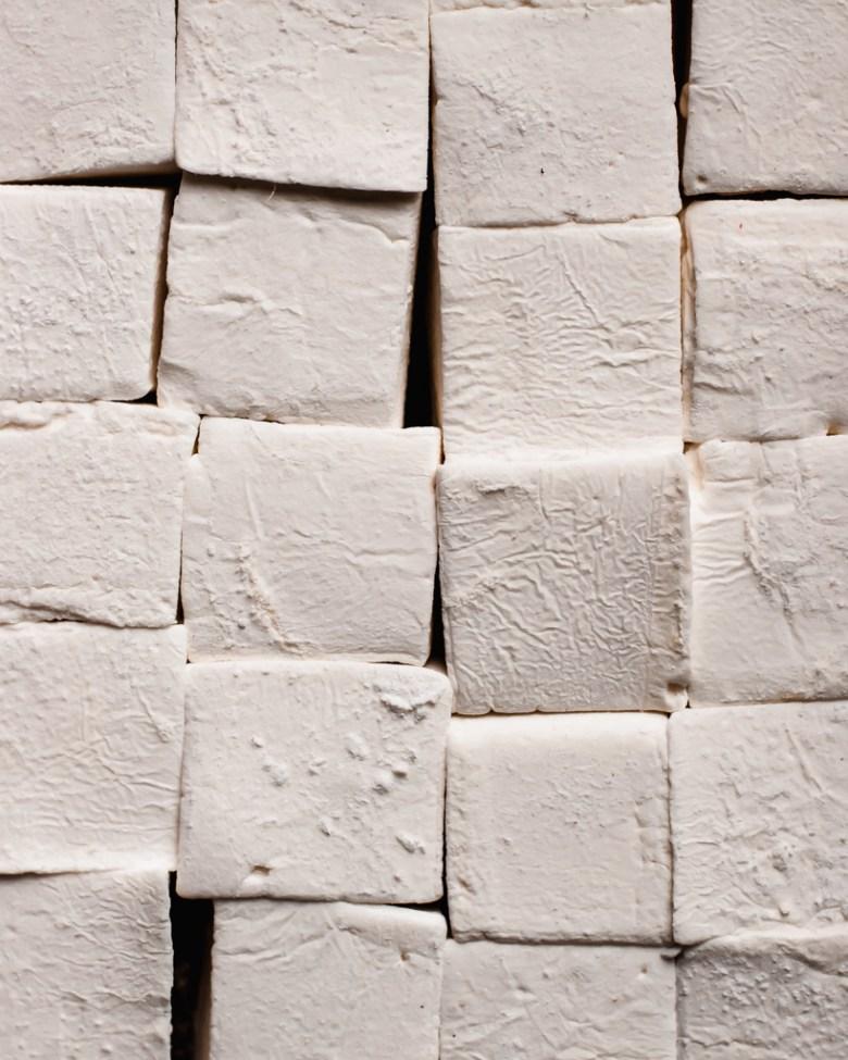 marshmallows closeup