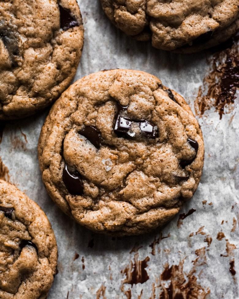 toasted milk powder cookies