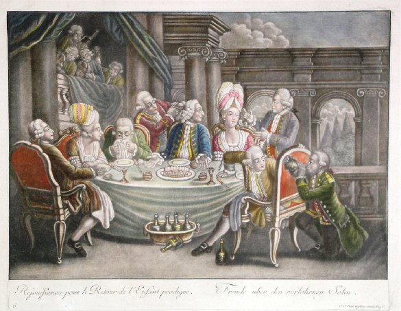 French Revolution began in Marie Antoinette's loins.