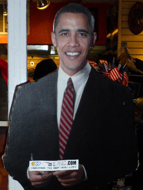 President Obama Endorese Cook To Bang