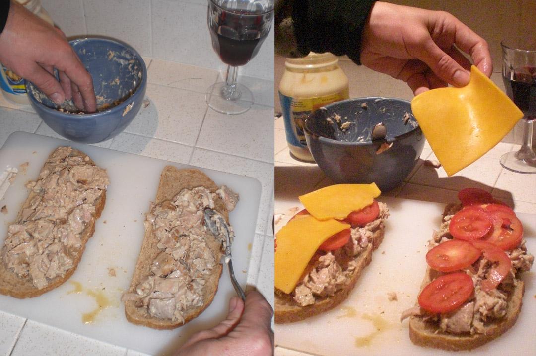 tuna-melt-bread-cheese