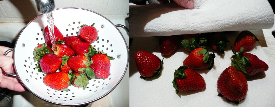 choc-dipped-strawberries-wash