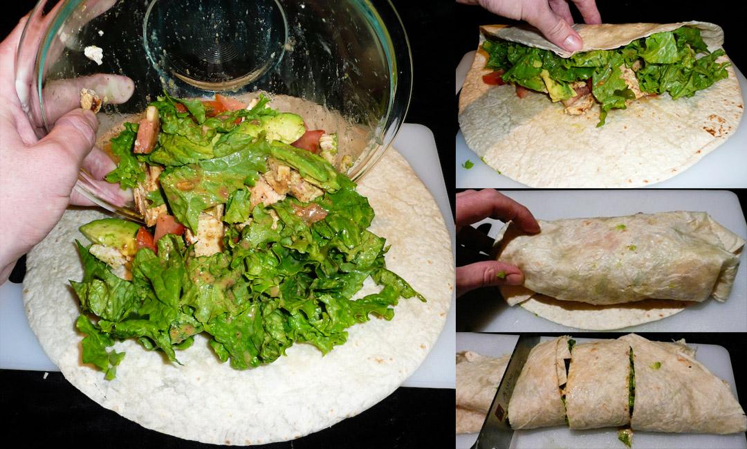 salad-wrap-assemble