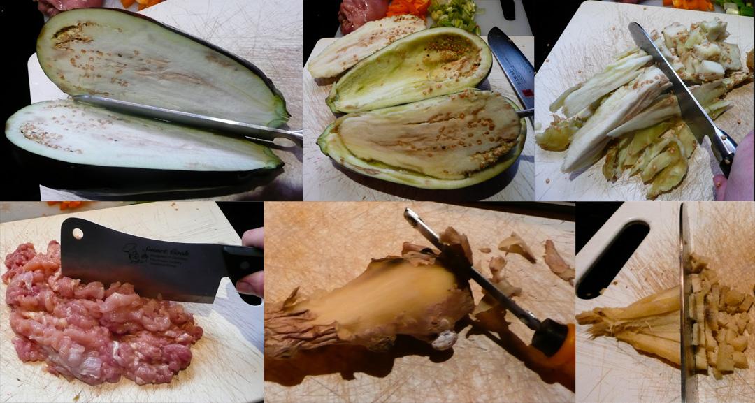 stuffed-eggplant-cut-scoop-peel