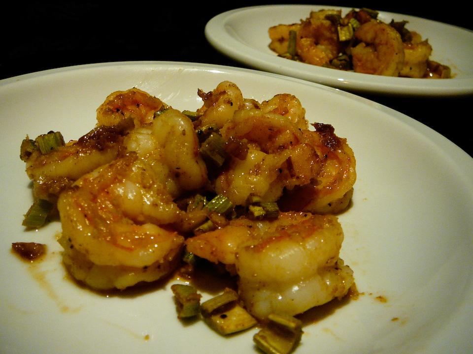 bangin cajun shrimp served 2