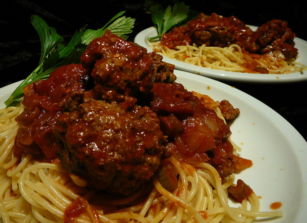 The meatballs keep a rolling rolling rolling!