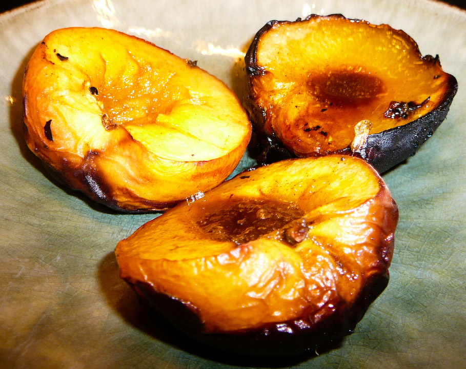 Grilled Nectarines reign supreme in the BBQ scene.