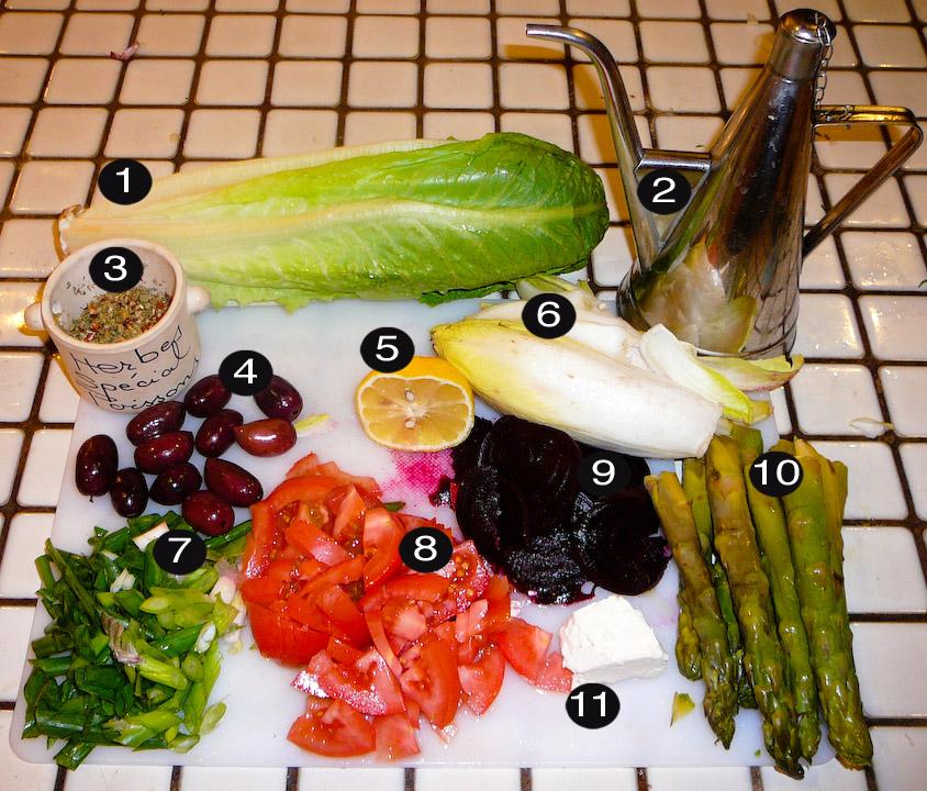 such sumptuous salad prep