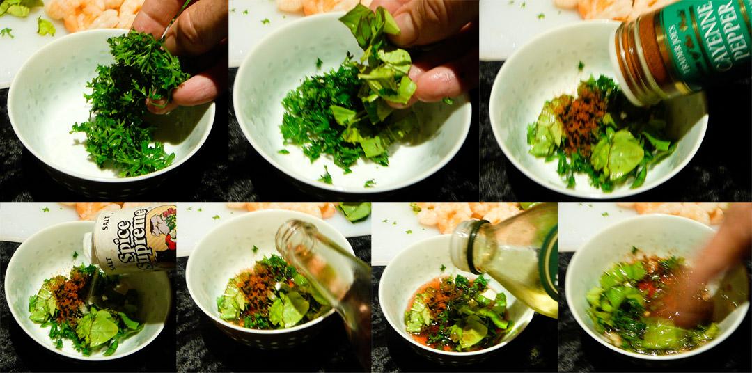 shrimp asparagus salad dressing
