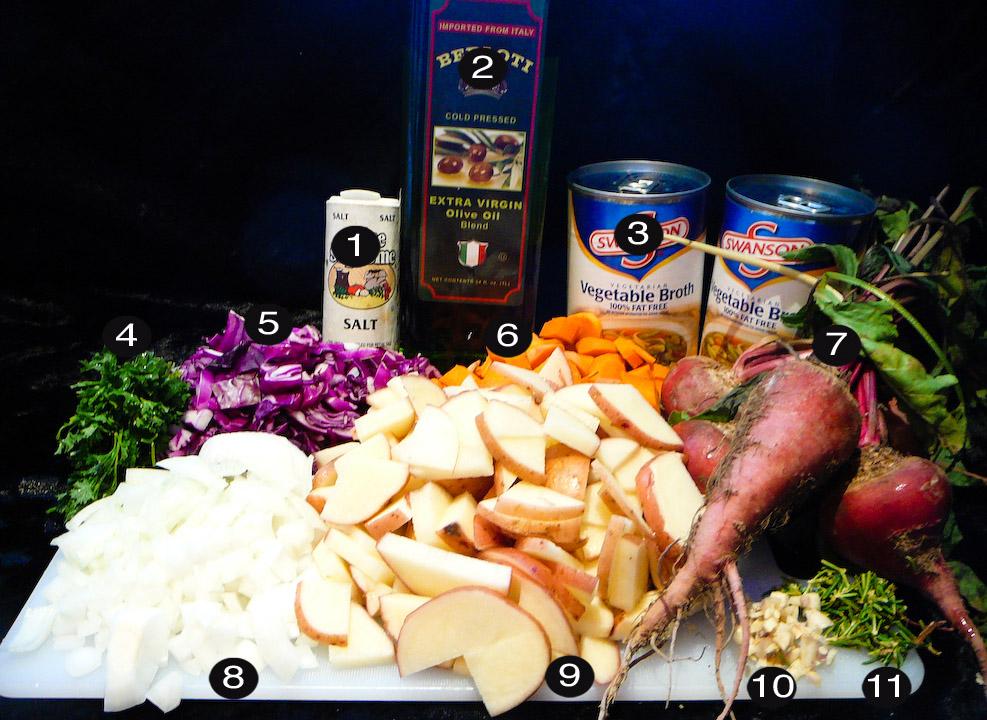 borscht prep
