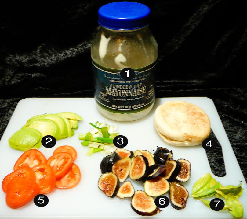 fig sinwich prep