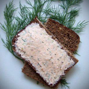 Smoked salmon & cream cheese paté