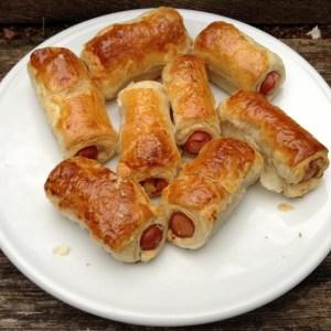 Yummy sausage rolls
