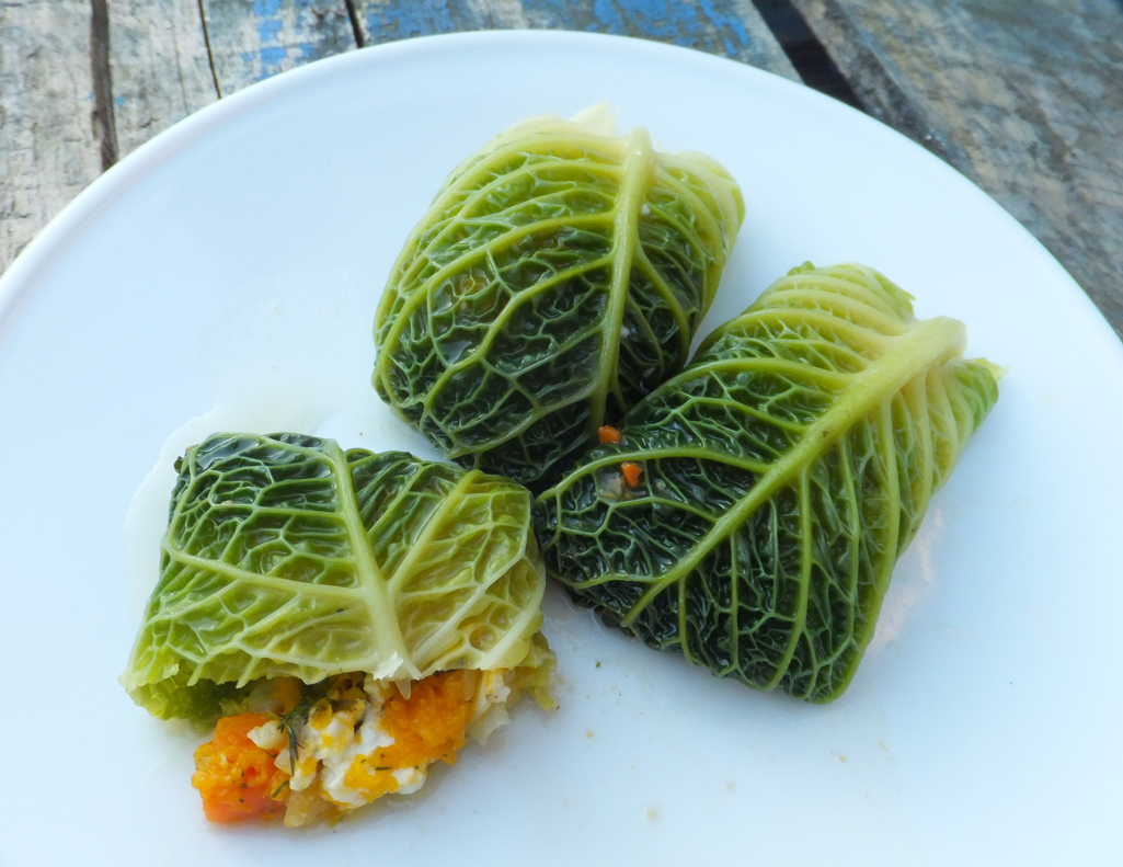 Stuffed Cabbage Rolls With Feta And Squash Cooktogether