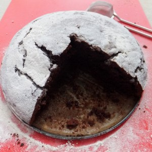 Very simple chocolate cake