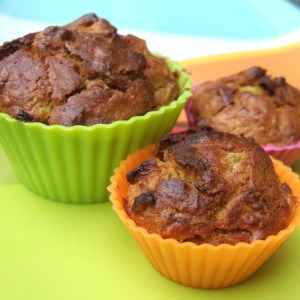 Pineapple and carrot muffin