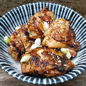 Spiced barbecued chicken