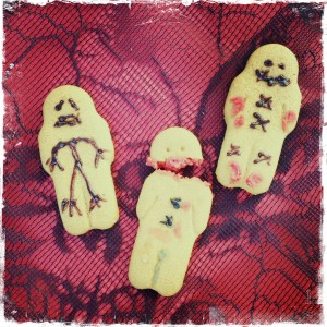 Injured gingerbread men