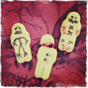 Injured gingerbread men