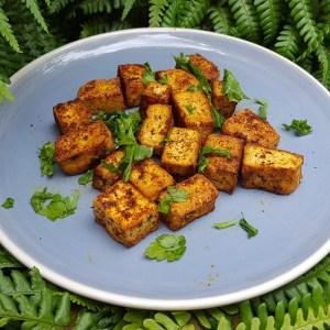 Crispy spiced tofu