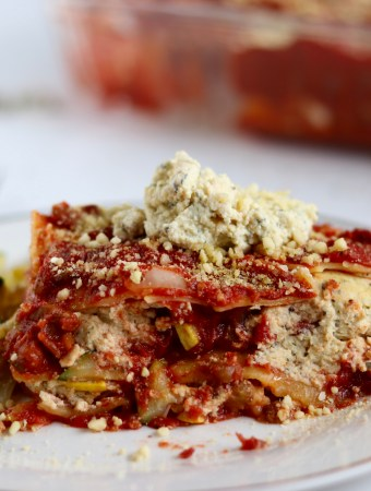 Loaded Veggie Lasagna