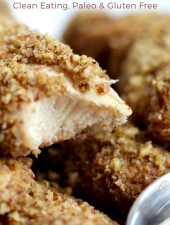 Pecan Crusted and Baked Chicken Tenders