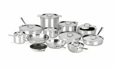 All-Clad D3 21-Piece Stainless Steel Cookware Set