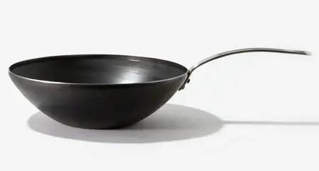 Blue Carbon Steel Wok