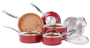 BulbHead (10824) - Dishwasher Safe Copper Cookware