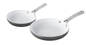 Calphalon 2 Piece Classic Ceramic Nonstick Omelet Chef Pan