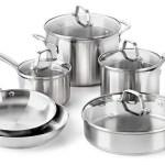 Calphalon Classic Stainless Steel Cookware Set