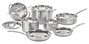 Cuisinart MCP-12N Multiclad Pro - Best Stainless Steel Pots and Pans