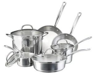 Farberware Millennium 18/10 Stainless Steel Cookware Set