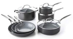 GreenPan CC000675-001 Valencia Pro Cookware Set