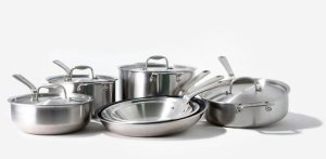 Made in's Sous Chef Stainless Steel Cookware Set