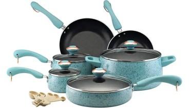 Paula Deen Signature Nonstick 15 Piece Porcelain Cookware Set Review