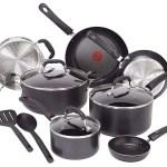 T-fal C515SC Professional Nonstick Cookware Pots and Pans Set