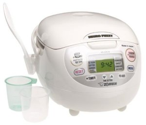 Zojirushi NS-ZCC10 5-1/2-Cup (Uncooked) Neuro Fuzzy Rice Cooker and Warmer