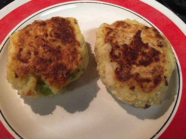 Tasty Homemade Fishcakes..